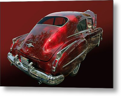50 Olds Fastback Metal Print by Bill Dutting