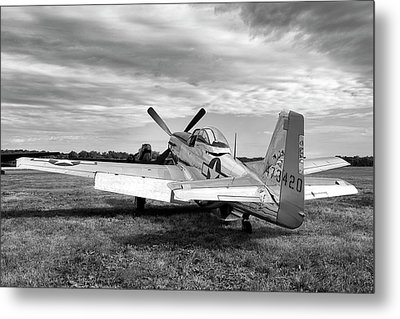 Metal Print featuring the photograph 51 Shades Of Grey by Peter Chilelli