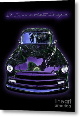 51chevrolet Coupe Metal Print by Peter Piatt