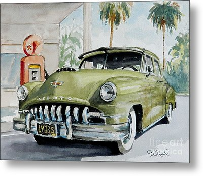 '52 Desoto Metal Print by William Reed