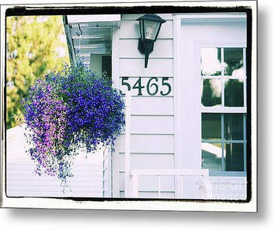 Metal Print featuring the photograph 5465 -h by Aimelle