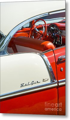 55 Chevrolet Sport Coupe Metal Print by Tim Gainey