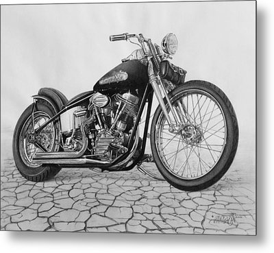 55 Pan Head Metal Print by Tim Dangaran