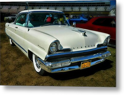 '56 Lincoln Metal Print by Victor Montgomery