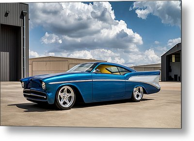 '57 Chevy Custom Metal Print by Douglas Pittman