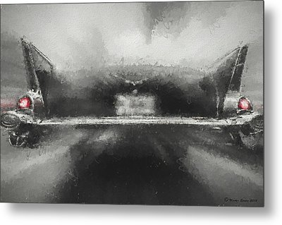 57' Chevy Mood Metal Print by Marvin Spates