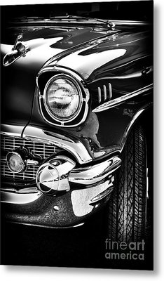 57 Chevy Metal Print by Tim Gainey