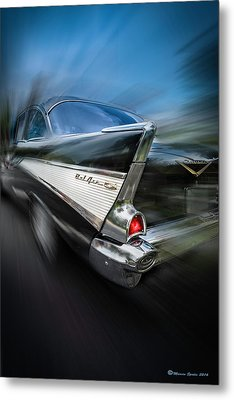 57' Go Power Metal Print by Marvin Spates