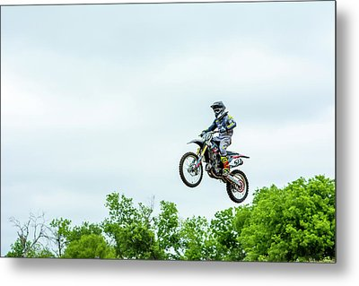 Metal Print featuring the photograph 573 Flying High At White Knuckle Ranch by David Morefield