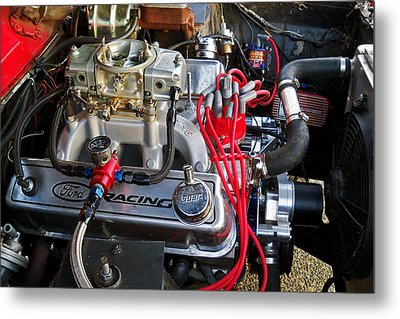 5.8 Ford Metal Print by Steve Battle
