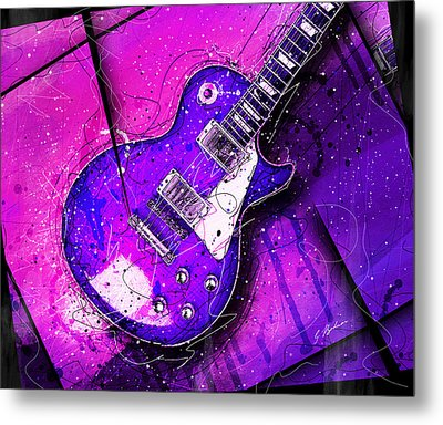 59 In Blue Metal Print by Gary Bodnar