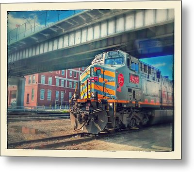 5th Street Bridge Metal Print by Dustin Soph