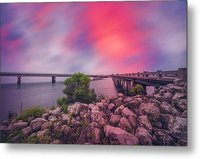 Metal Print featuring the photograph Amelia Island by Peter Lakomy