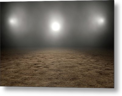 Circus Ring Empty Metal Print by Allan Swart