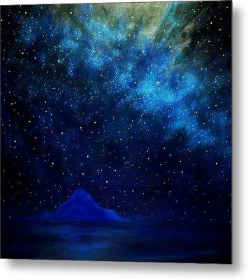 Cosmic Light Series Metal Print by Len Sodenkamp