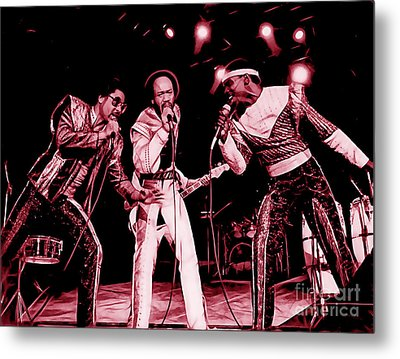 Earth Wind And Fire Collection Metal Print by Marvin Blaine