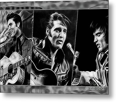Elvis Metal Print by Marvin Blaine