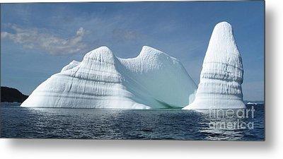 Iceberg Metal Print by Seon-Jeong Kim