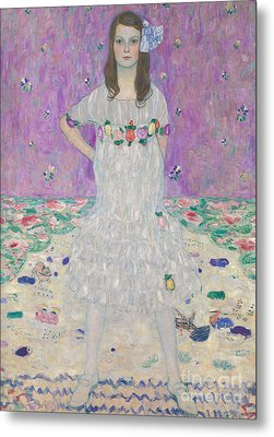 Mada Primavesi Metal Print by Gustav Klimt
