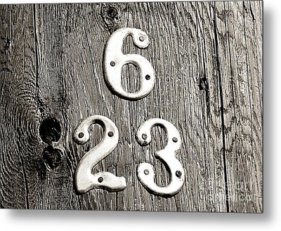 6 Over 23 Metal Print by Ethna Gillespie