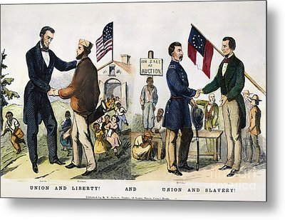 Presidential Campaign, 1864 Metal Print by Granger