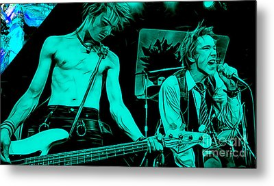Sex Pistols Collection Metal Print by Marvin Blaine