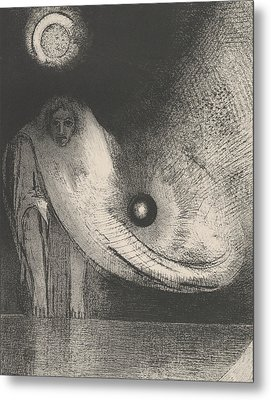 The Buddha Metal Print by Odilon Redon