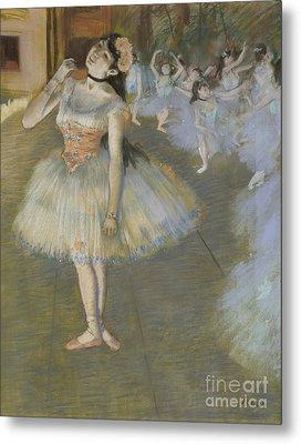 The Star Metal Print by Edgar Degas