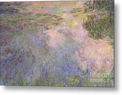 The Waterlily Pond Metal Print