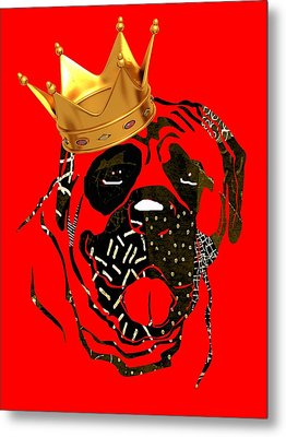 Top Dog Collection Metal Print by Marvin Blaine