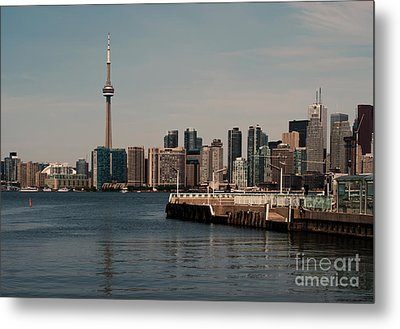 Toronto Skyline Metal Print by Blink Images