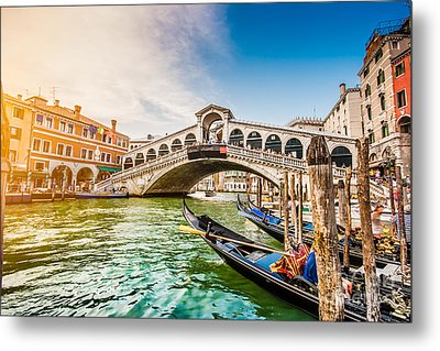 Venice Sunset Metal Print by JR Photography