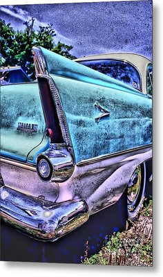 60s Plymouth Metal Print by Corky Willis Atlanta Photography