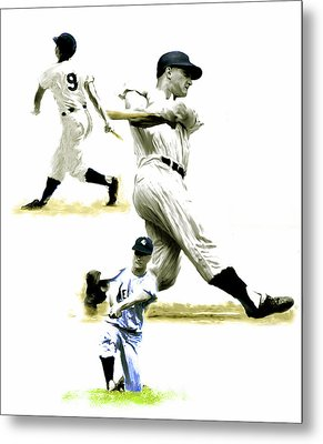 61  Roger Maris Metal Print by Iconic Images Art Gallery David Pucciarelli