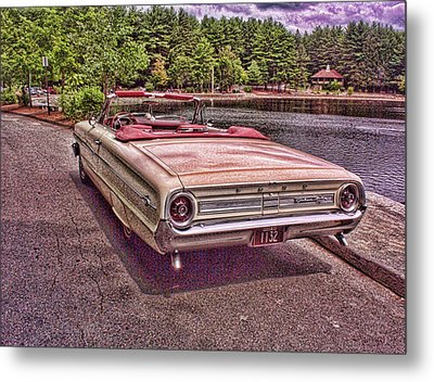 64 Ford Metal Print by Paul Godin