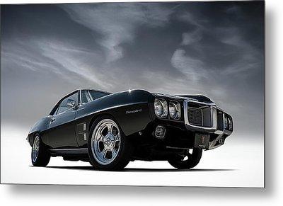 69 Pontiac Firebird Metal Print