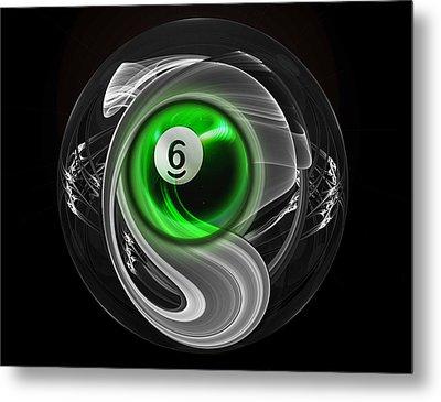 6fractuled Metal Print by Draw Shots