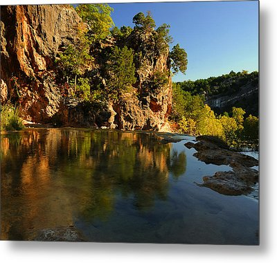 Arbuckle Mountains Metal Print by Iris Greenwell