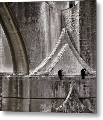 Architectural Detail Metal Print by Carol Leigh