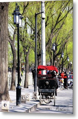 Metal Print featuring the photograph Beijing by Marti Green