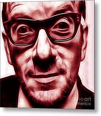 Elvis Costello Collection Metal Print