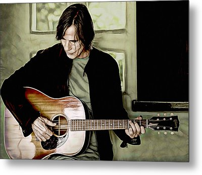 Jackson Browne Collection Metal Print