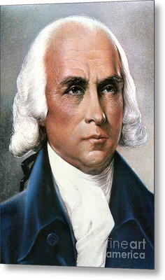James Madison (1751-1836) Metal Print by Granger