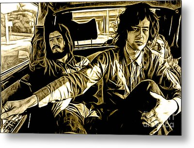 Led Zeppelin Collection Metal Print by Marvin Blaine