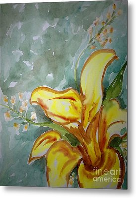 Love Flowers Metal Print by Baljit Chadha