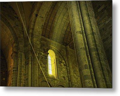 Metal Print featuring the photograph Mont-saint-michel France by Cendrine Marrouat