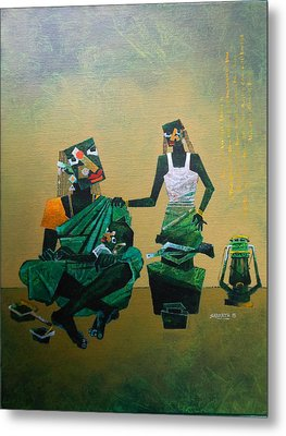 Mother And Child Metal Print by Sharath Palimar
