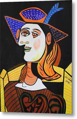 Picasso By Nora Metal Print