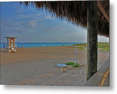 Metal Print featuring the photograph 7- Southern Beach by Joseph Keane
