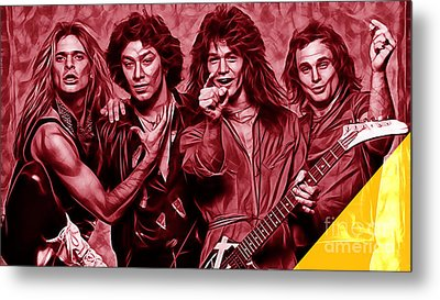 Van Halen Collection Metal Print by Marvin Blaine